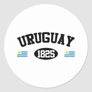 Uruguay 1825 etiqueta redonda