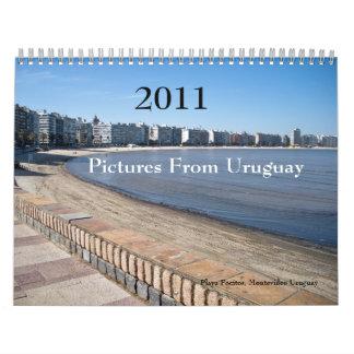 Uruguay 2011 Calendar