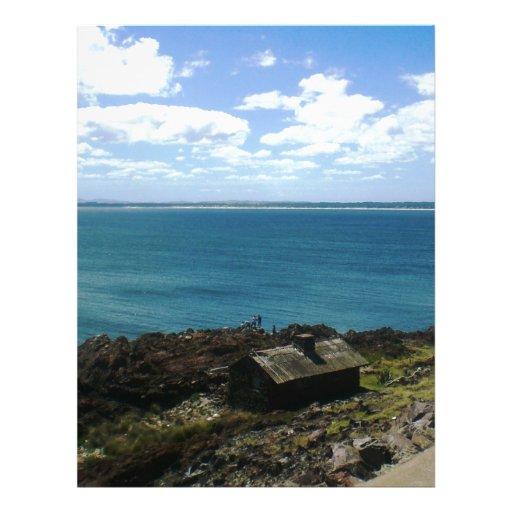 Uruguay cabin by the sea letterhead zazzle for Cabin by the sea