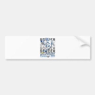 Uruguay campeon de la copa bumper stickers