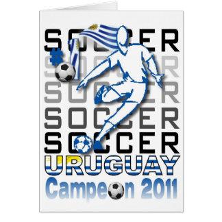 Uruguay campeon de la copa cards