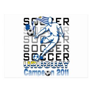 Uruguay campeon de la copa postcard