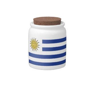 Uruguay Candy Jar