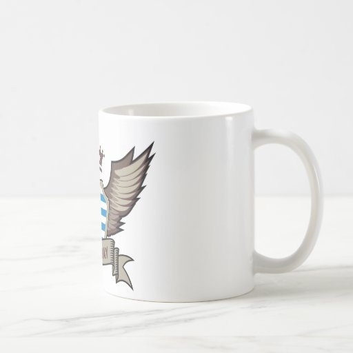 Uruguay Classic White Coffee Mug