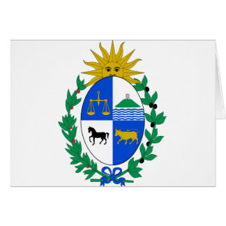 Uruguay Coat of Arms Card