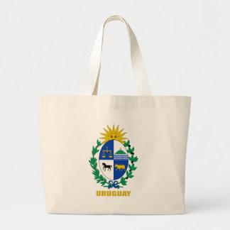 Uruguay Coat of Arms Large Tote Bag