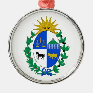Uruguay Coat of Arms Metal Ornament