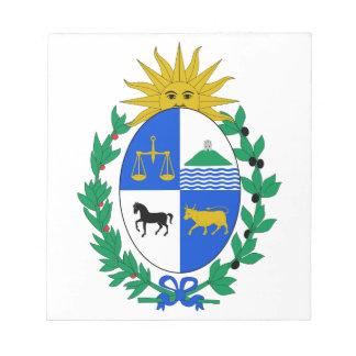 Uruguay Coat of Arms Memo Notepads
