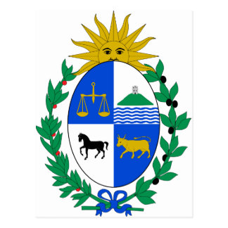 Uruguay Coat of Arms Postcards