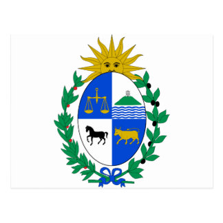 Uruguay Coat of Arms Post Card