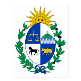 Uruguay Coat of Arms Postcard