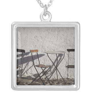Uruguay, Colonia Department, Colonia del 3 Silver Plated Necklace