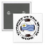 Uruguay contra el mundo pins