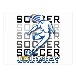 Uruguay Copa America 2011 Postcard