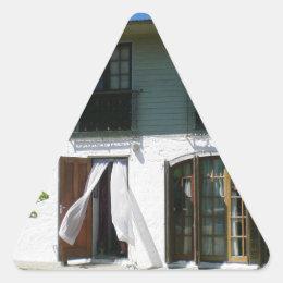 Uruguay Cottage Front Triangle Sticker