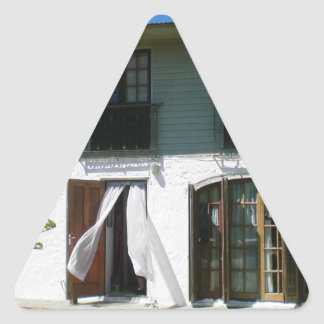 Uruguay Cottage Front Triangle Sticker