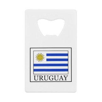 Uruguay Credit Card Bottle Opener