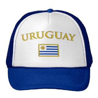 Uruguay de oro gorros bordados