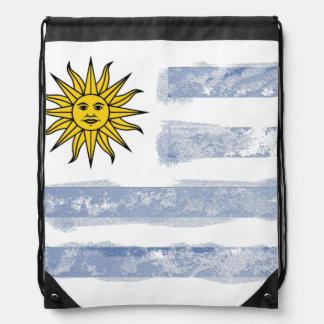 Uruguay Drawstring Backpack