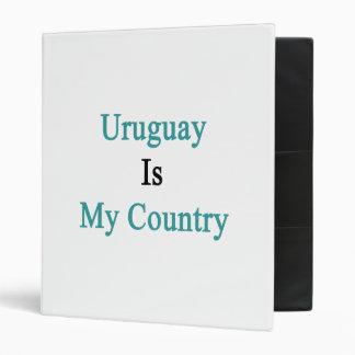Uruguay es mi país