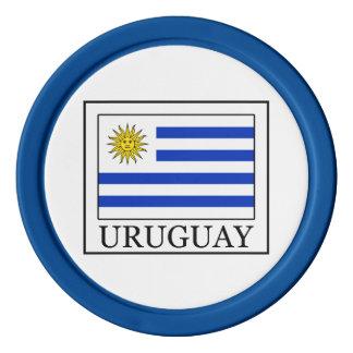 Uruguay Fichas De Póquer
