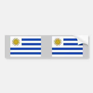 Uruguay Flag Bumper Stickers