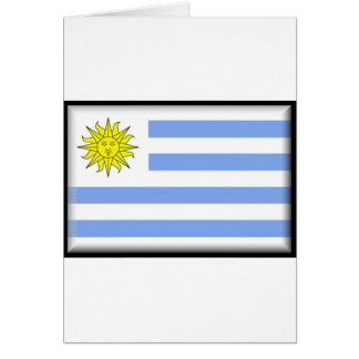 Uruguay Flag Greeting Cards