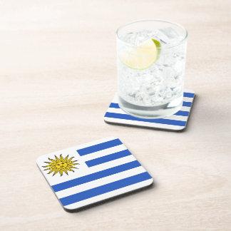 Uruguay Flag Coaster