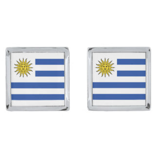 Uruguay Flag Cufflinks