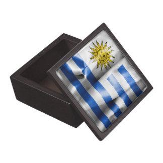 Uruguay Flag Jewelry Box
