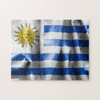 Uruguay Flag Jigsaw Puzzle