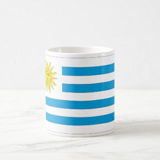 Uruguay Flag Classic White Coffee Mug