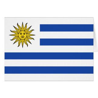 Uruguay Flag Notecard