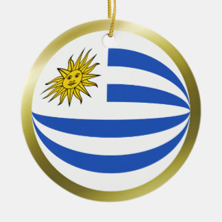 Uruguay Flag Ornament