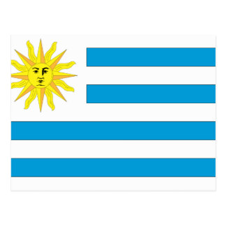 Uruguay Flag Post Card