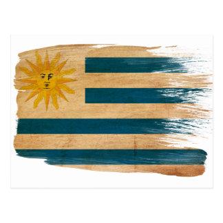 Uruguay Flag Postcards