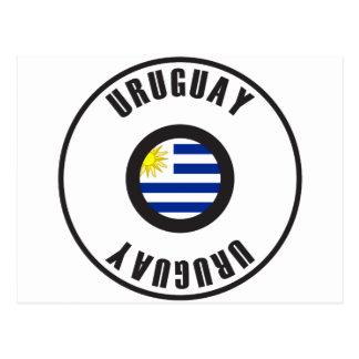 Uruguay Flag Simple Postcard
