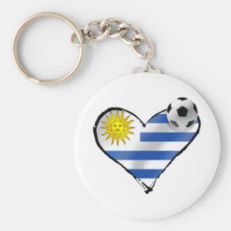 Uruguay flag soccer futbol te amo gifts key chain