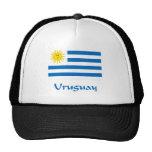 Uruguay Flag Trucker Hats