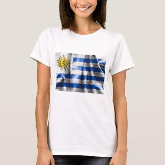 Uruguay Flag Women's Basic T-Shirt
