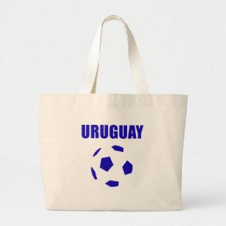 Uruguay futbol/futebol T-Shirts Large Tote Bag