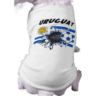 Uruguay Futbol Shirt for Dogs
