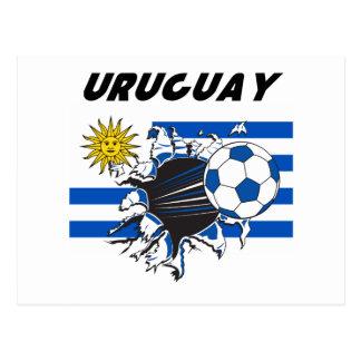 Uruguay Futbol Stationery Postcard