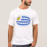 Uruguay Gnarly Flag T-Shirt