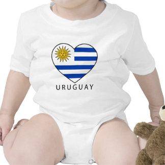 Uruguay Heart black URUGUAY Shirt