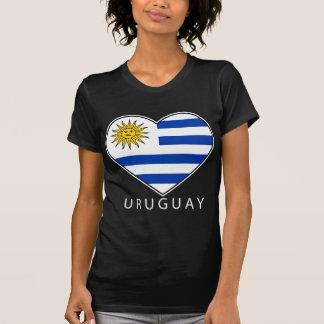 Uruguay Heart black URUGUAY Shirts