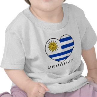 Uruguay Heart black URUGUAY T Shirt