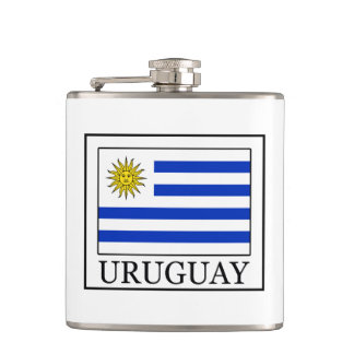 Uruguay Hip Flask