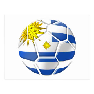 Uruguay La Celeste Uruguayan soccer fans gifts Post Cards