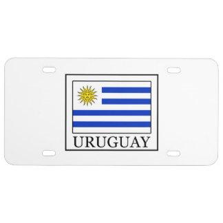 Uruguay License Plate